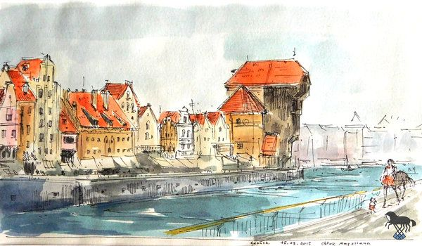 Gdansk by OblokMagellana