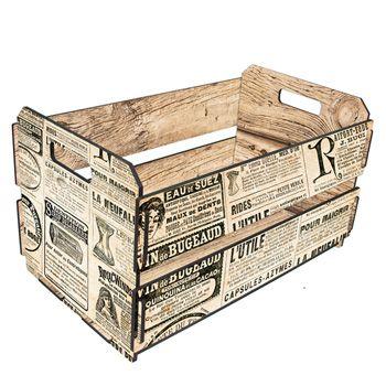 Caixote Jornal Francês