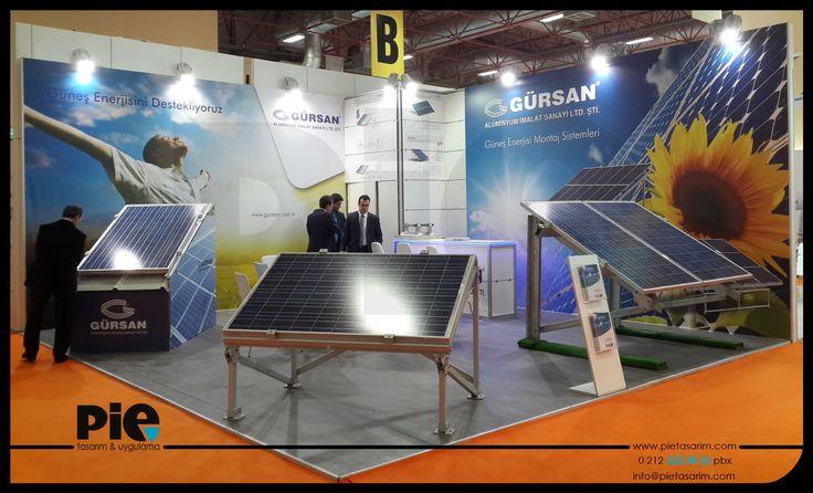 Solarex Fuarı ''GÜRSAN'' Stand Uygulamamız