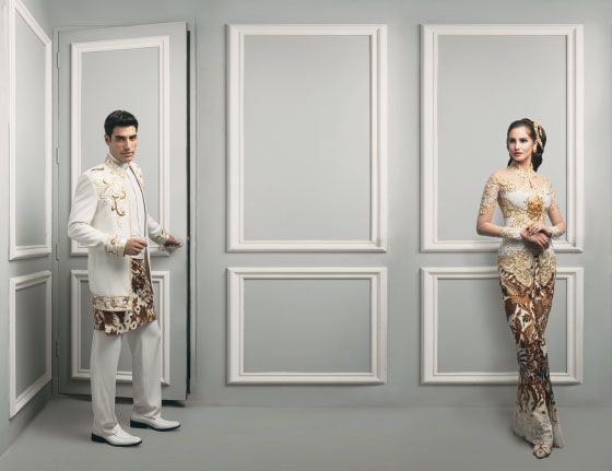 Indonesian Bride & Groom  designed by: Brutus and Anne Avantie