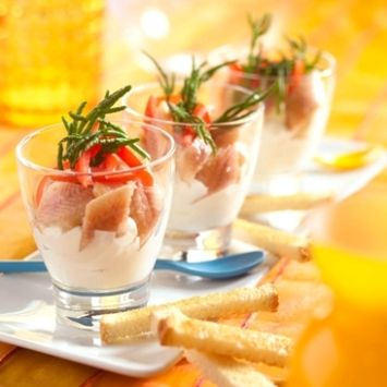 Mierikswortelmousse met paling - Taste Inspiration !