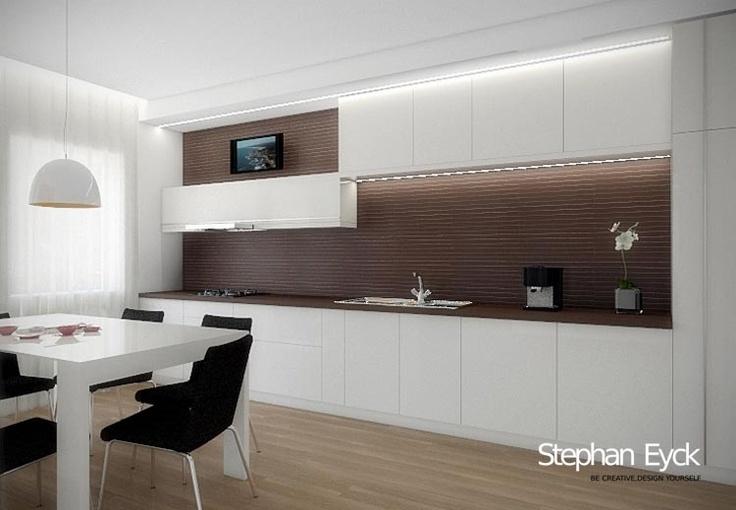 Design interior bucatarie – Casa Bucuresti