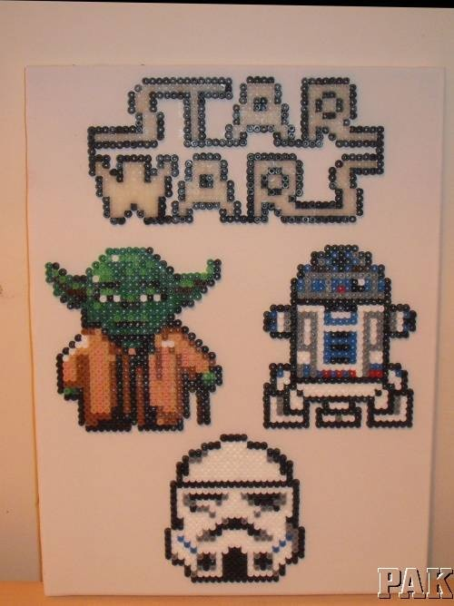 1000 Images About Hama Beads On Pinterest Canvas Wall