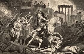 ARTICULO 3 - 20 - En la península gobernaba Odoacro, quien antes había destronado al último emperador romano de Occidente, Rómulo Augústulo en 476.