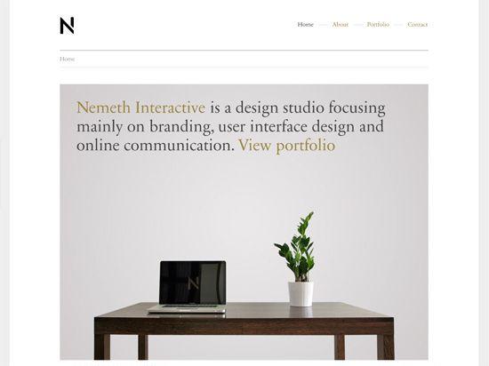 portfolio example   Nemeth Interactive