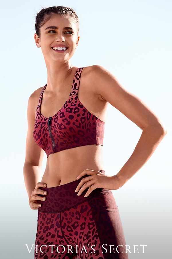 a04ad2a28 Spotted in the wild  the new Ultra Max Sport  Bra in leopard print ...