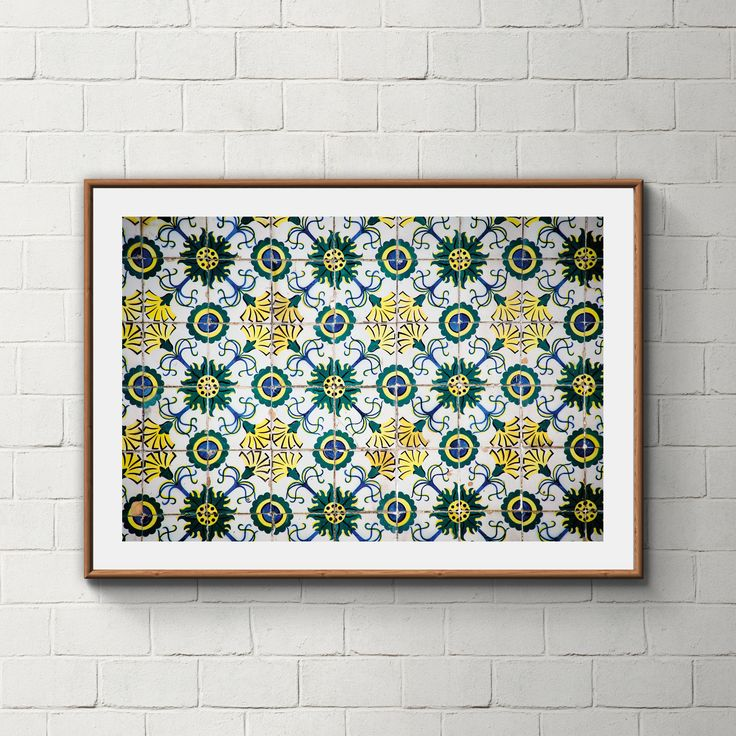 025_PrintAzulejos, Azulejos, Poster, Wall, Printable, Portugal, Pattern, Tiles, Photography, Instant download