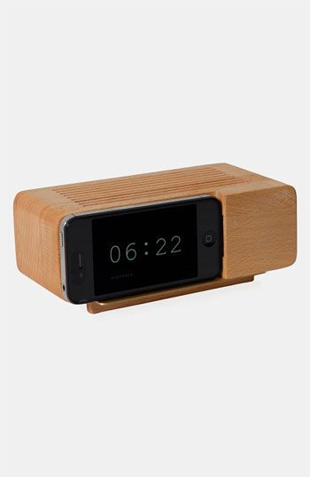Retro iPhone Alarm Dock available at Nordstrom