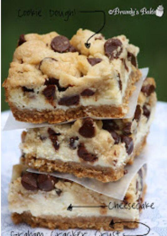 Cheesecake Cookie dough Brownies