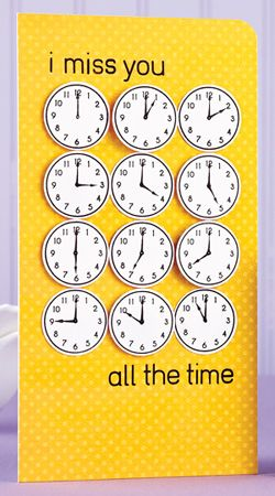 All the Time Card by @Jessica Witty