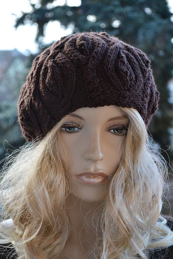 Women's Hat Winter beret Women Hat Slouchy Beanie Knit