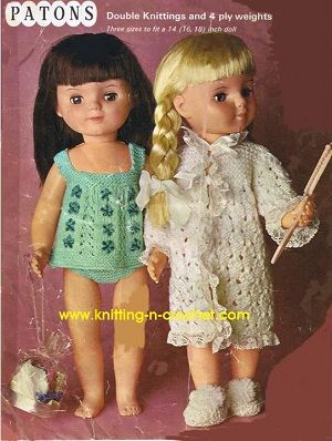 """18 IN Doll Patterns 