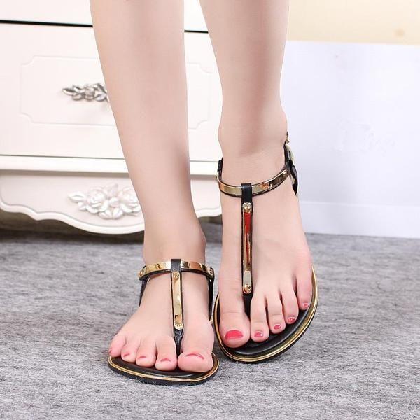 New Casual Summer Fashion Flat Sandals