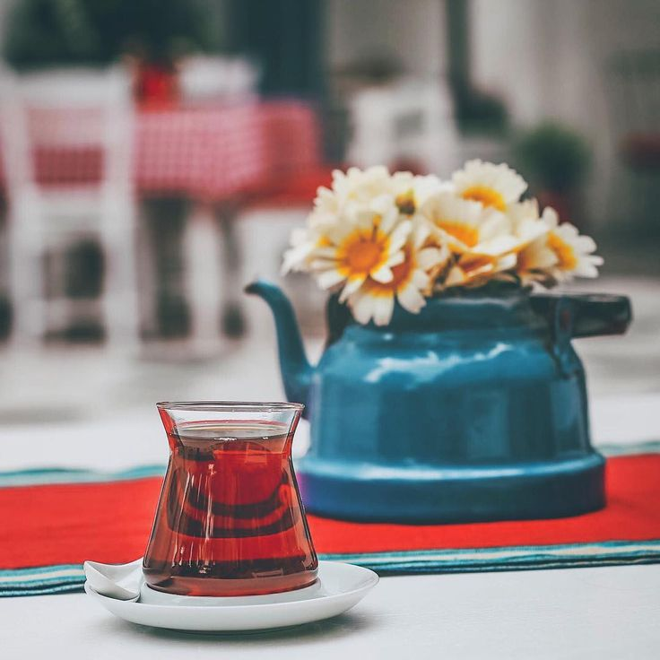 Turkish tea (place:Kurabiye Hotel Alacati-Cesme-Turkey) // Barış (admbrs) | Instagram photo