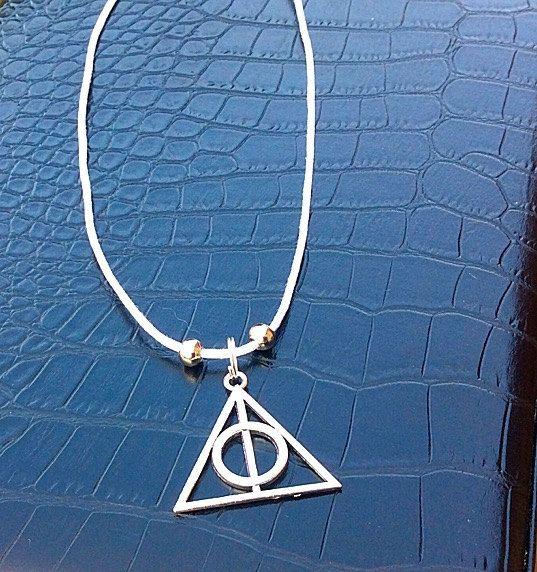 Triangle illuminati necklaceHarry Potter inspired by PetalcraftArt