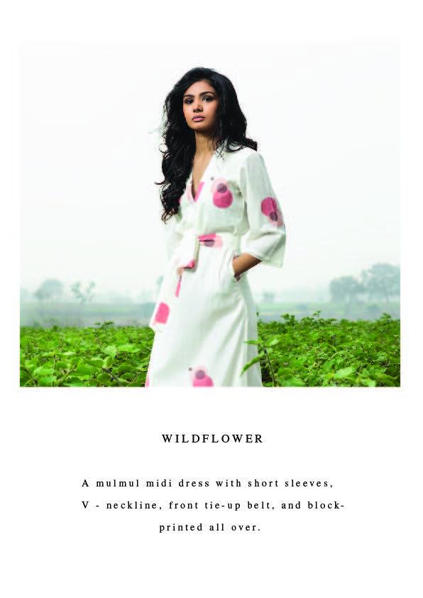 Dreaming Of Meadows Lookbook Short Dresses Midi Dress Knee Length Dress
