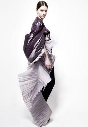 Jarna Papinniemi  — BA (Hons) Fashion Design Technology: Womenswear  AW2011