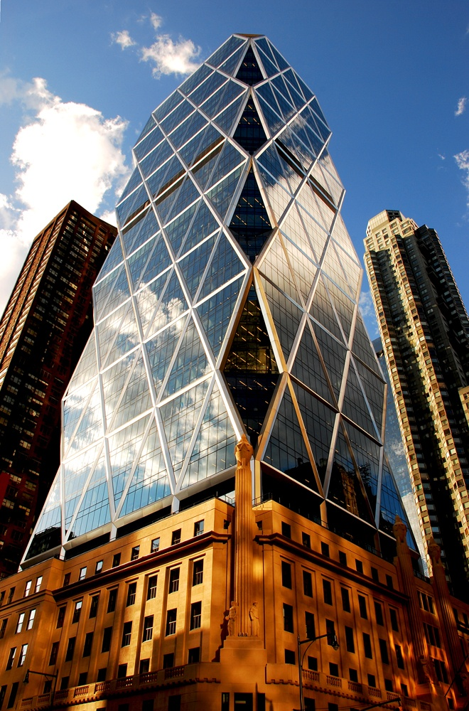 Best Architecten Hearst Tower, Nyc By Norman Foster. A True Pioneer In