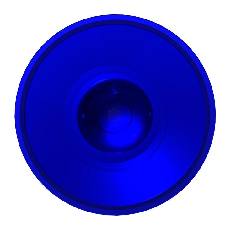 C'est ne pas un cercle bleu