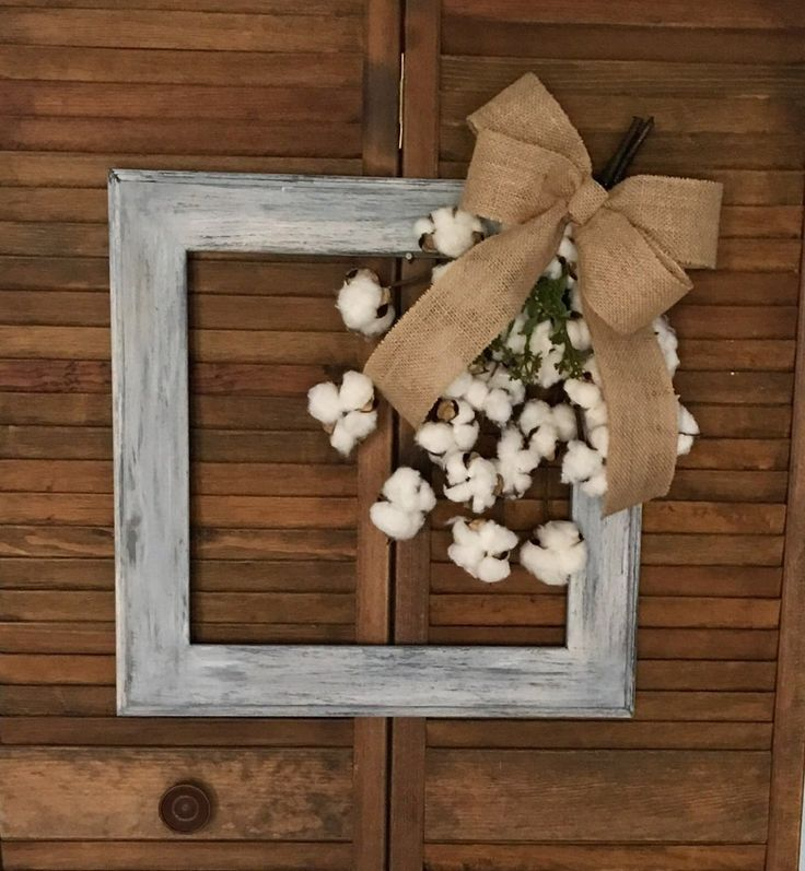 Best 25+ Cotton wreath ideas on Pinterest | Wreath with ...