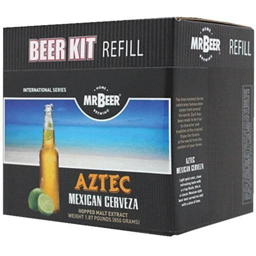 Coopers LLC/Mr Beer Aztec Mex Cerveza Refill 60961 Unit: Each, Brown chocolate