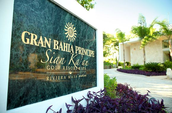 Bahia Principe Sian Ka'an: This luxury #golf resort in the breathtaking #RivieraMaya is ideal to spend your golf vacations. #GolfTulum