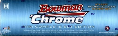 Baseball Cards 213: 2013 Bowman Chrome Mini Baseball Factory Sealed Set (330) Cards Aaron Judge !!! -> BUY IT NOW ONLY: $199.95 on eBay!