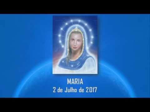 *****CANALIZAÇÃO - MARIA - TEOFANIA E REVELAÇÕES - * 02/07/2017 *