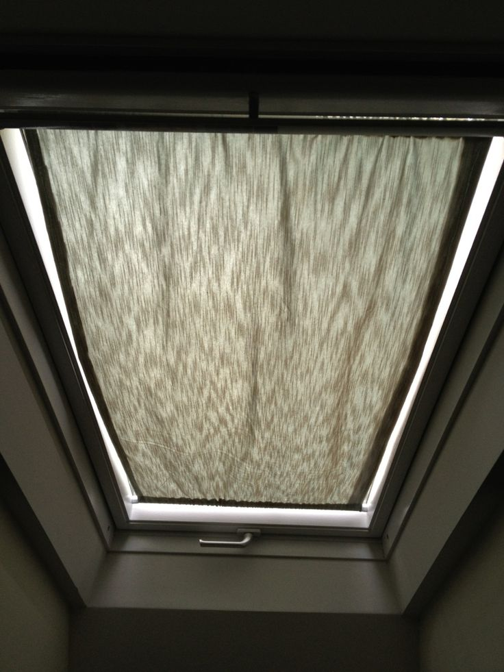 Skylight Curtain Our Bathroom Gets Plenty Of Light But