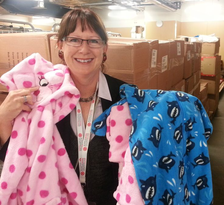Farmers donated thousands of pj's and robes. Thanks team Farmers!