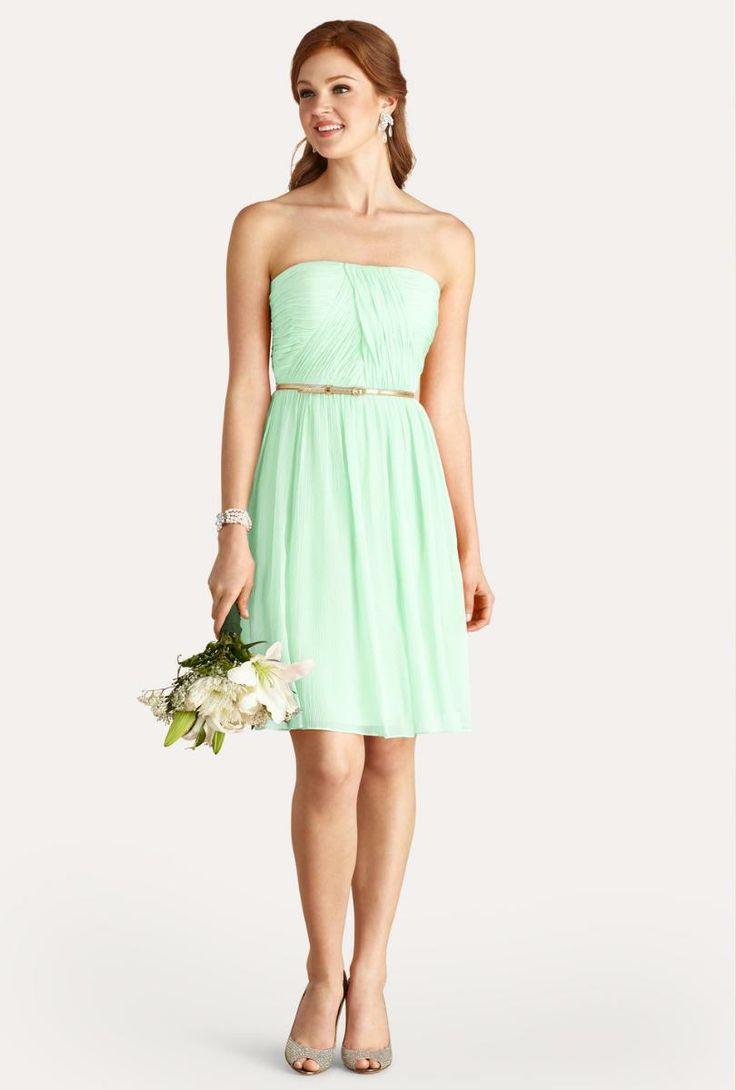 Berühmt Brautjunferkleider Donna Morgan Bilder - Hochzeit Kleid ...
