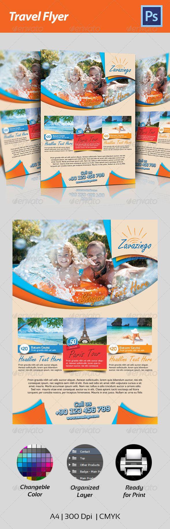 149 best tourism&travel layout images on Pinterest | Flyer design ...