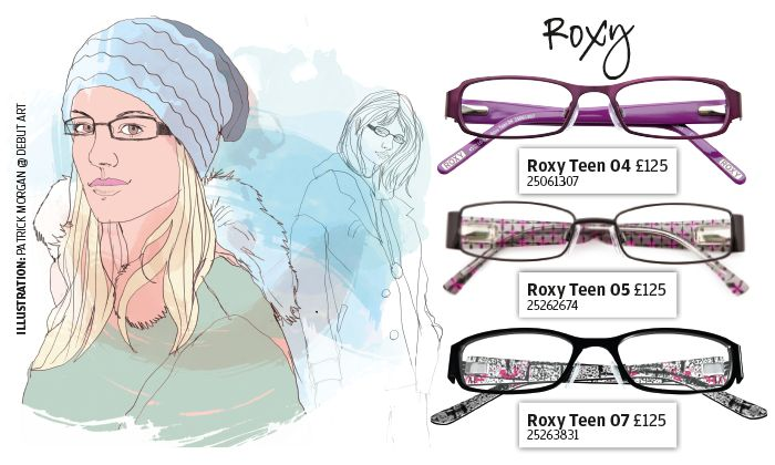 Roxy eyewear - These fashion forward glasses say it all