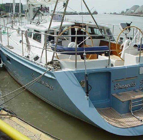 Cruising sailing yacht / deck saloon BOUGAINVILLAEA 64 Kanter Yachts