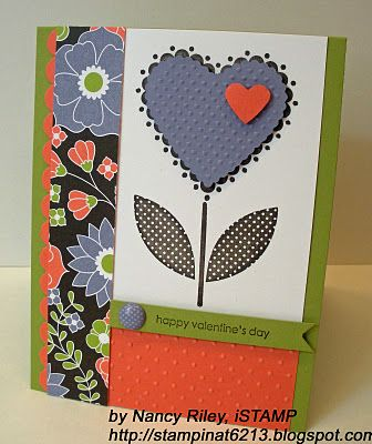 by Nancy Riley, iSTAMP: Sweetheart Stamps, Stampin Up, Valentines Day, Stamps Sets, Cards Valentines, Valentines Cards, Cards Heart, Berries Blossoms, Heart Cards