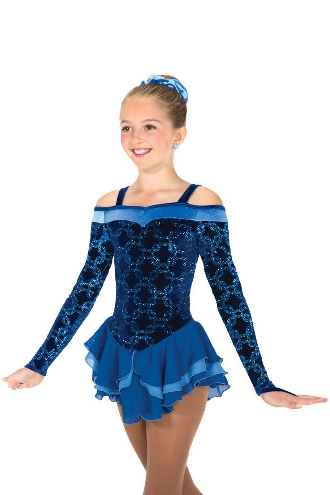 COMPETITION SKATING DRESS 621 GLAM ROYAL JERRY MADE ORDER 3 WEEKS FABRICATION