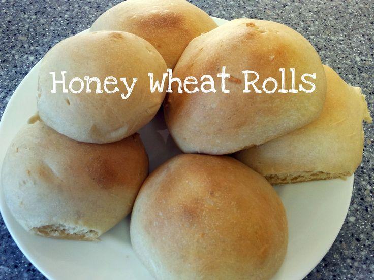 honey white bread machine recipe