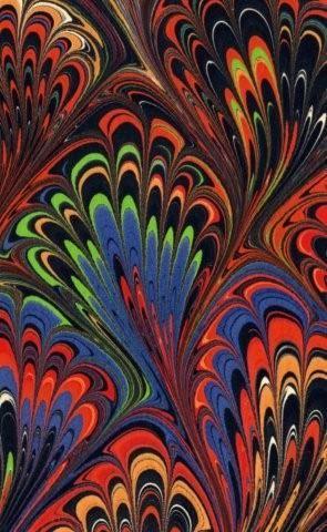 Ann Muir marbled paper