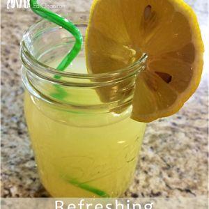 Refreshing Apple Cider Vinegar Detox Drink ~ He and She Eat Clean