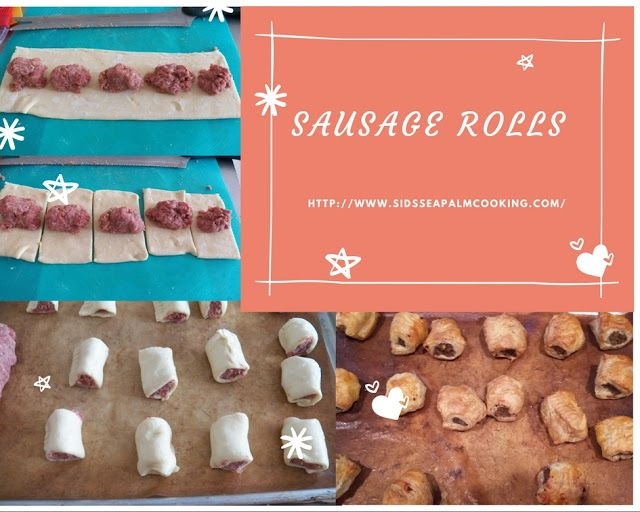 Sid's Sea Palm Cooking: Scottish Style Sausage Rolls