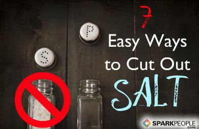 Slash your salt intake with these tips! | via @SparkPeople #nutrition #eatbetter #healthyeating