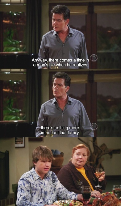 two and half men (with charlie sheen)