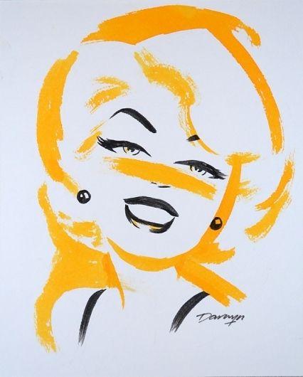 Retro Blonde Babe by Darwyn Cooke