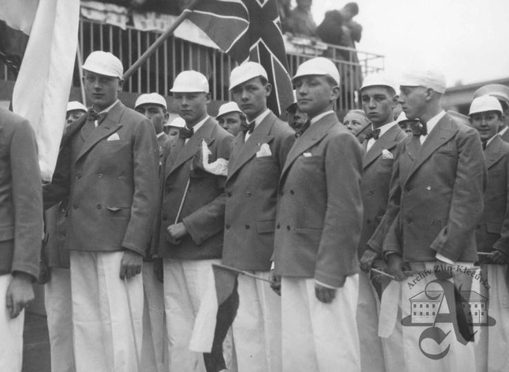 Baťa School of Work - a group of Englishmen, 1933