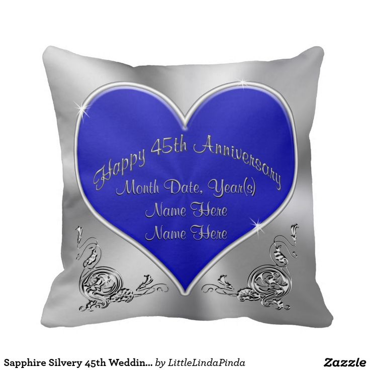 23 Best 45th Wedding Anniversary Gifts Images On Pinterest