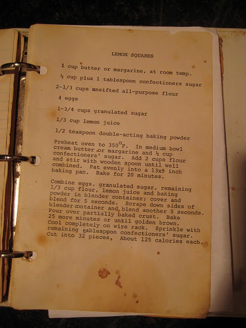 LOVE old cookbooks and handwritten recipes!
