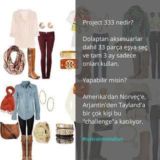 Türk İşi Minimalizm: Proje 333- Sadece 33 parça ile 3 ay dayanabilir mi...