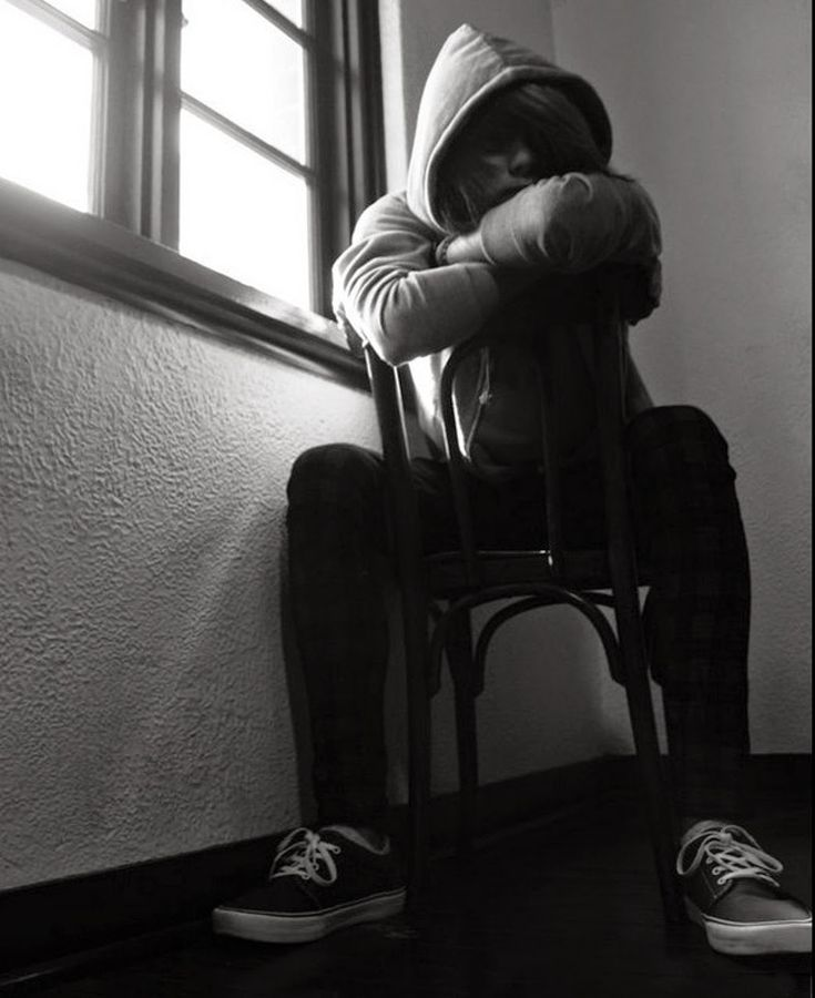 alone boy in dark room sitting alone pic images
