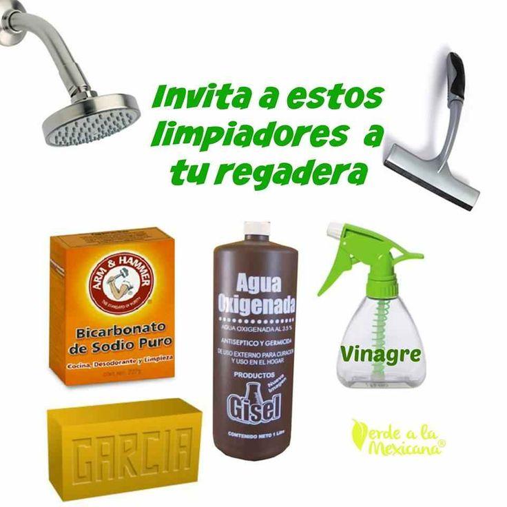 Tips verdes para la limpieza del ba o invita a estos for Porque gotea la regadera del bano