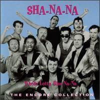 Sha-na-na - a bunch of Columbia College guys who made their big premiere in a concert in 1967 on the steps of Columbia's Low Library! It was a blast! (I was there, & danced with a friend of mine - somebody was filming us, we were THAT good!)